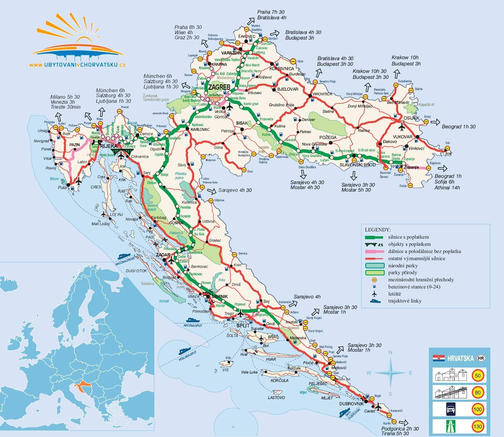 wakacje na jachcie chorwacja grecja korsyka mapa